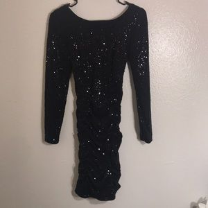 Sequin Stretch Cocktail Dress